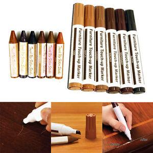 12 Pieces Furniture Repair Kit Markers & Filler Sticks Restore Wood Floor Tool