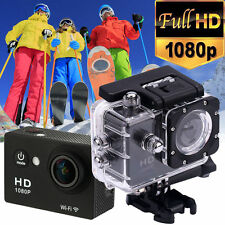"WIFI 1080P HD 12MP 2.0"" Helmet Sports Camera Action Cam Video DVR Waterproof"