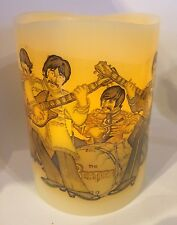 THE BEATLES Sgt Pepper ELECTRONIC FLICKERING CANDLE FLAMELESS