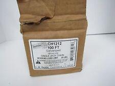 DOTTTIE CH1212 100FT GALVANIZED 12 GAUGE SINGLE JACK CHAIN