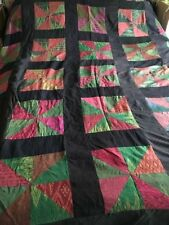 Handmade Geometric Decorative Quilts & Bedspreads