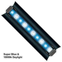 "SolarMax 36/"" 2 x T5 10K//Actinic Lunar Aquarium Strip Light Fixture"