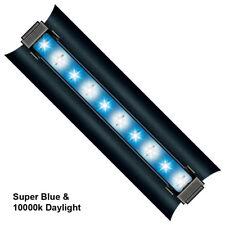 "2x 12/18/24/30/36/48"" HO 1W Aquarium LED Light Super Blue Actinic & Daylight 10K"