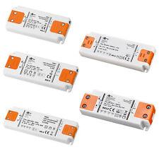 LED Transformator 0,5 - 50 W 230 V AC 12 V DC Trafo Netzgerät Slim ABVERKAUF !