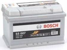 S5 007 Bosch Car Battery 12V 74Ah Type 100 S5007