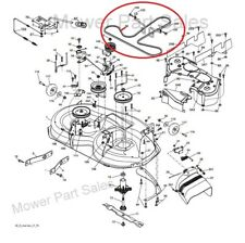 Cutter Drive DECK Cintura fatta con Kevlar HUSQVARNA, JONSERED, McCulloch M145-107T