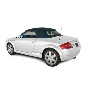 Audi TT 2000-2005 Convertible Soft Top With Glass Window BLUE Stayfast Cloth