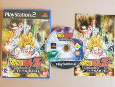 Dragonball Z Budokai Tenkaichi PS2 Game Playstation 2 Bandai UK Pal Dragon Ball