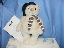 Steiff Teddy Bear Christmas Monty Snowman Ted Limited Edition 021718  New Boxed