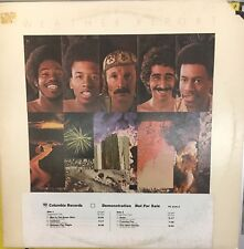 WEATHER REPORT Tale Spinnin' White Label PROMO 1975 Jazz VG+ LP