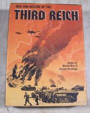 Vintage Rise & Decline Of The 3rd Reich Bookcase Game Avalon Hill Baltimore 813