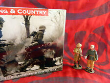 King & Country - Afrikakorps et 8ème armée - EA012 - Soldats allemand & anglais