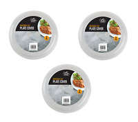 6x Pack Plate Covers Ventilated Microwave Food Plate Dish Cover Kitchen Cooking