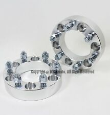 2 Pcs Wheel Spacers | 6X5.5 To 6X5.5 ( 6X139.7 ) | 108 CB | 14X1.5 Studs | 38MM