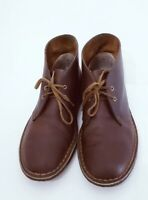 Womens Clarks Originals Desert Boots Brown Beeswax Leather Crepe Sole US 9.5