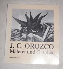 J.C. Orozco - Malerei und Graphik (1980) exhibition catalogue in German