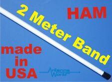 Ham 2m Marine VHF 2 meter Antenna 144-148 MHz 6 Feet Tapered Fiberglass Airwave