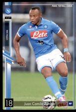 Panini (Japan/Bandai) Football 2015 (PFL10) Juan Camilo Zuniga Napoli #26