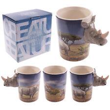 Fantasy Tasse Nashorn Kaffeetasse Kaffeebecher Becher Mug Teetasse Afrika Safari