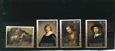 ST.VINCENT 2003 PAINTINGS BY REMBRANDT SET OF 4 STAMPS MNH