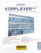 TerraTec 10168 Komplexer VST-i Synthesizer Plug-In Musikinstrumente PC