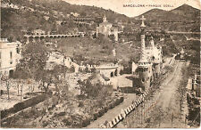 Postal Años 20 Barcelona PARQUE GUELL
