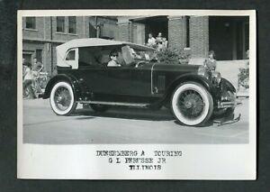 Vintage Car Photo 1920s Duesenberg A Touring ACD Club Auto Show 420148