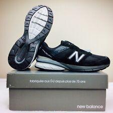 New Balance M990BK5 990 V5 Black Silver Running Shoes Men's Size 13