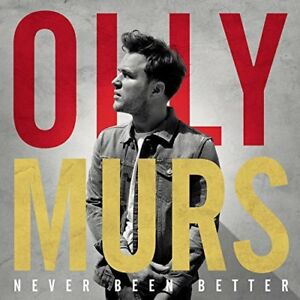 Olly Murs - Never Been Better CD *NEW & SEALED* FAST UK DISPATCH