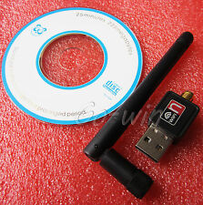 1PCS MINI USB WIFI ADAPTADOR 150MBPS WIRELESS 11N CHIP - RALINK RT5370 NEW