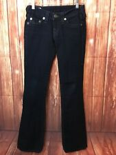 True Religion Straight Leg Jeans Women's Size 25 RN 112790