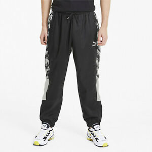 Puma Tailored For Sport OG AOP Pants Black White Casual Wear Workout Pants