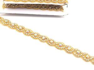 11'' Silver Colour Beautiful Bridal Rhinestone Belt Bridal Dress Lace, Trim Belt