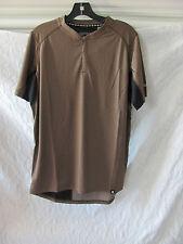 Canari Bernies Cycling/Biking Jersey Shirt-Pocket-Durango Brown-Men's Med -NWT