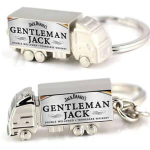 Jack Daniels Gentleman Jack Custom Zinc Alloy Truck Keyring