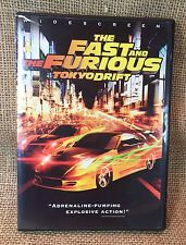 The Fast and the Furious Tokyo Drift DVD, 2006, Widescreen FREE SHIPPING