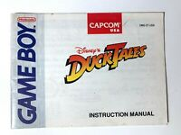 Ducktales Original Nintendo Gameboy Game Instruction Manual Booklet Book ONLY