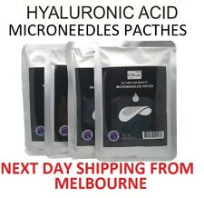 Hyaluronic Acid Microneedle Patches Eye Neck Anti Aging Dissolving Dermaroller