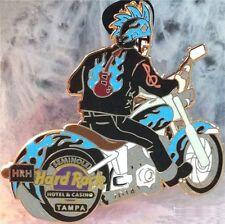 Hard Rock Hotel TAMPA FL 2014 MOTORCYCLE ROCKER PIN Bike Rider - HRC #79024