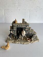 More details for border fine arts collie sheep dog with pups ayres 1985  james herriot