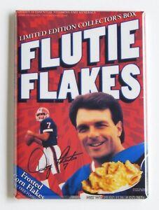 Flutie Flakes FRIDGE MAGNET cereal box doug flutie