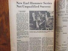 April 7, 1974 Lancaster Pa. TV Week(APPLE'S  WAY/MAX  VON SYDOW/EVA  MARIE SAINT