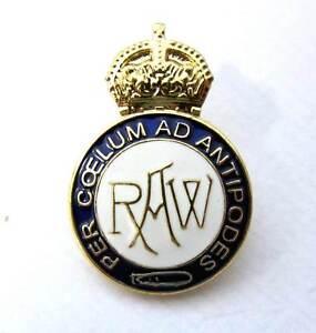 Airship Badge R100 R101 Royal Works pin lapel Zeppelin Dirigible Balloon RAW RAF