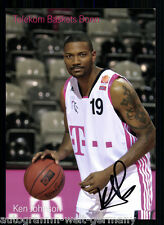 Ken Johnson TB Bonn 2008-09 TOP AK Original Signiert Basketball +A 58277