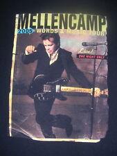 2005 JOHN MELLENCAMP INDIANA ROCK BAND TOUR SHIRT