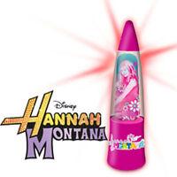 HANNAH MONTANA ECCENTRIC GLITTER LIGHT UP NIGHT LIGHT LAMP