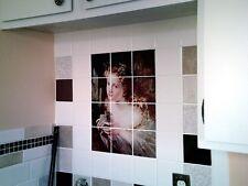 18 x 24 Victorian Fantasy Mural Ceramic Backsplash Tile #470