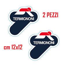 KIT 2 ADESIVI STICKERS TERMIGNONI ...FANTASTICI...OTTIMA QUALITA'!!! cm 12x12