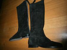 bottes noir velour george rech
