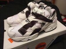 Mens Size 11.5 Reebok Instapump Fury OB Over Branded White Black DS AR1413 NEW
